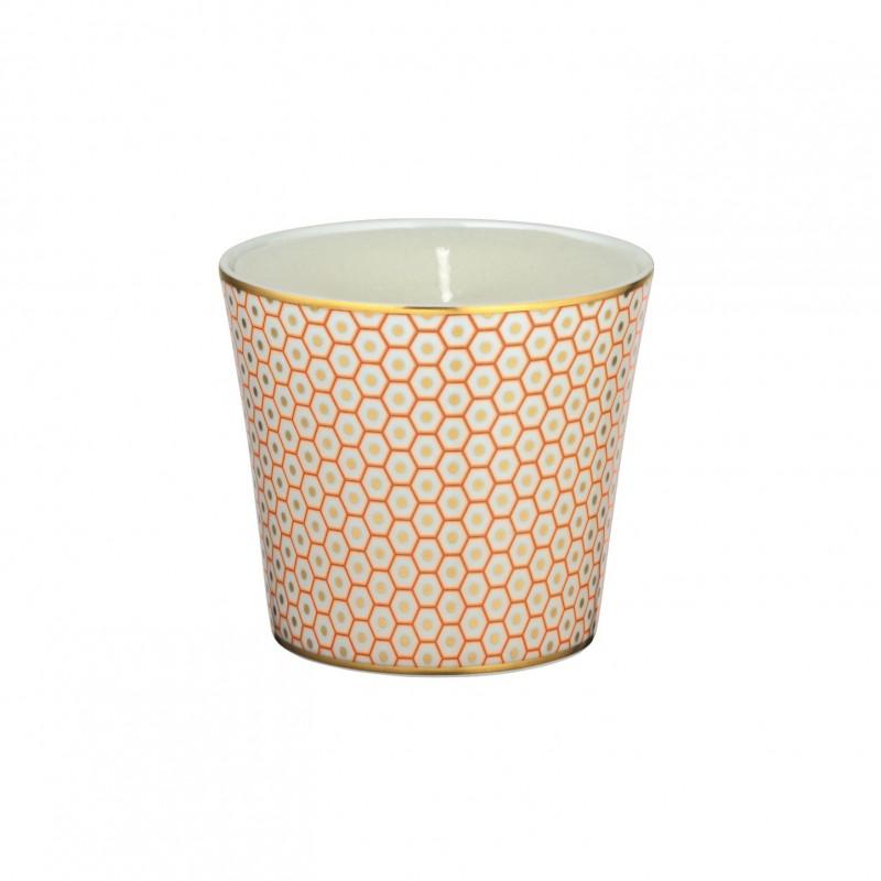 Trésor Candle Pot Orange