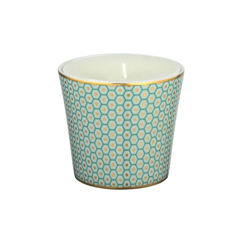 Trésor Candle Pot Turquoise