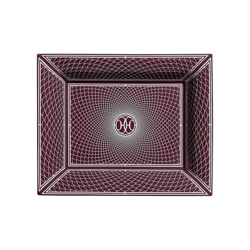 H Déco Rouge Change Tray