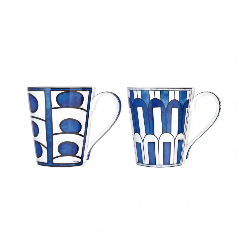 Bleus d'Ailleurs Set of 2 Mugs Blue