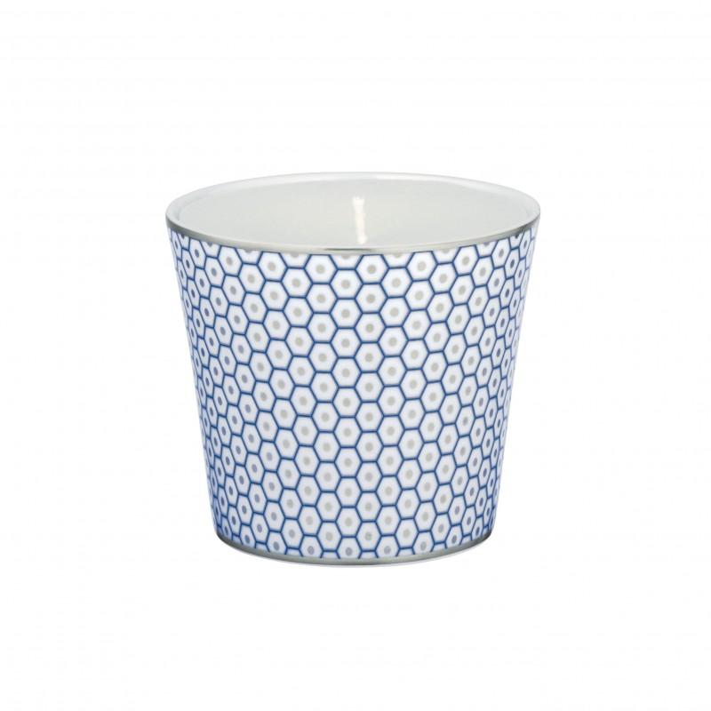 Trésor Bleu Pot à Bougie