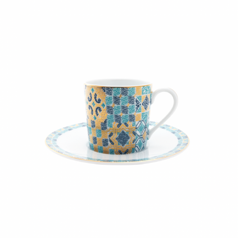 Portofino Coffee Cup and Saucer