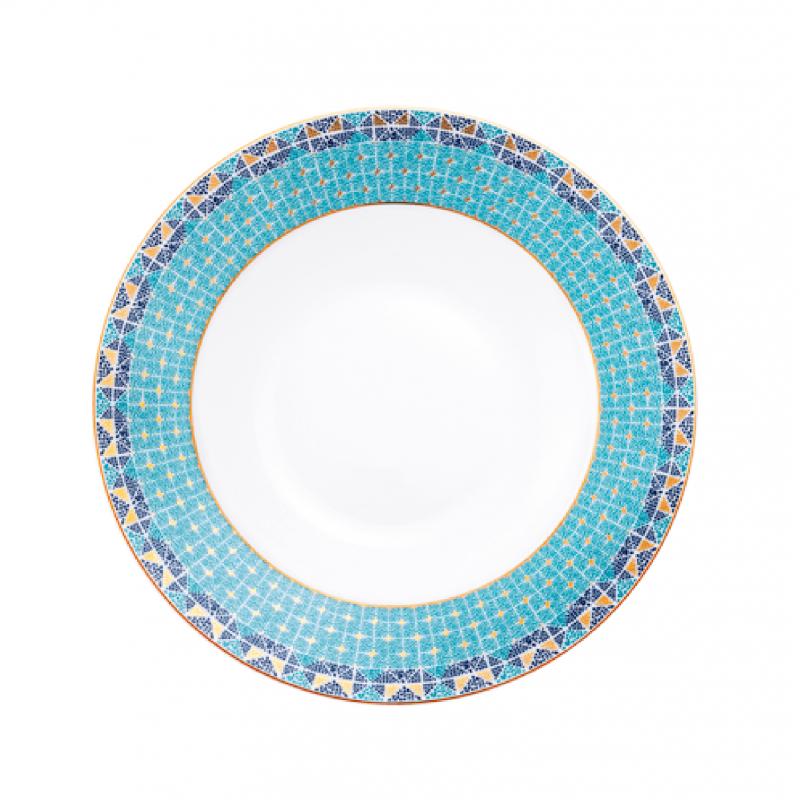 Portofino Soup Rim Plate