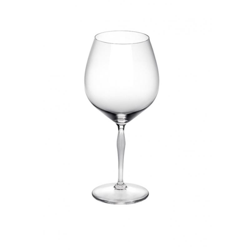 100 points Burgundy Glass - Set of 2