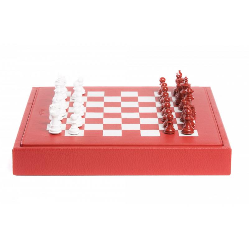 Buffle Chess Box Red