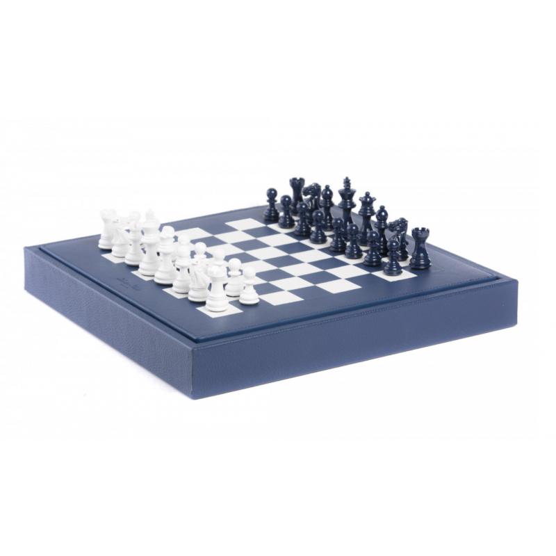 Buffle Chess Box Navy