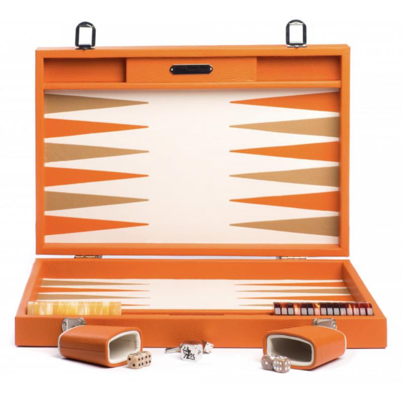Backgammon Baptiste Large Orange