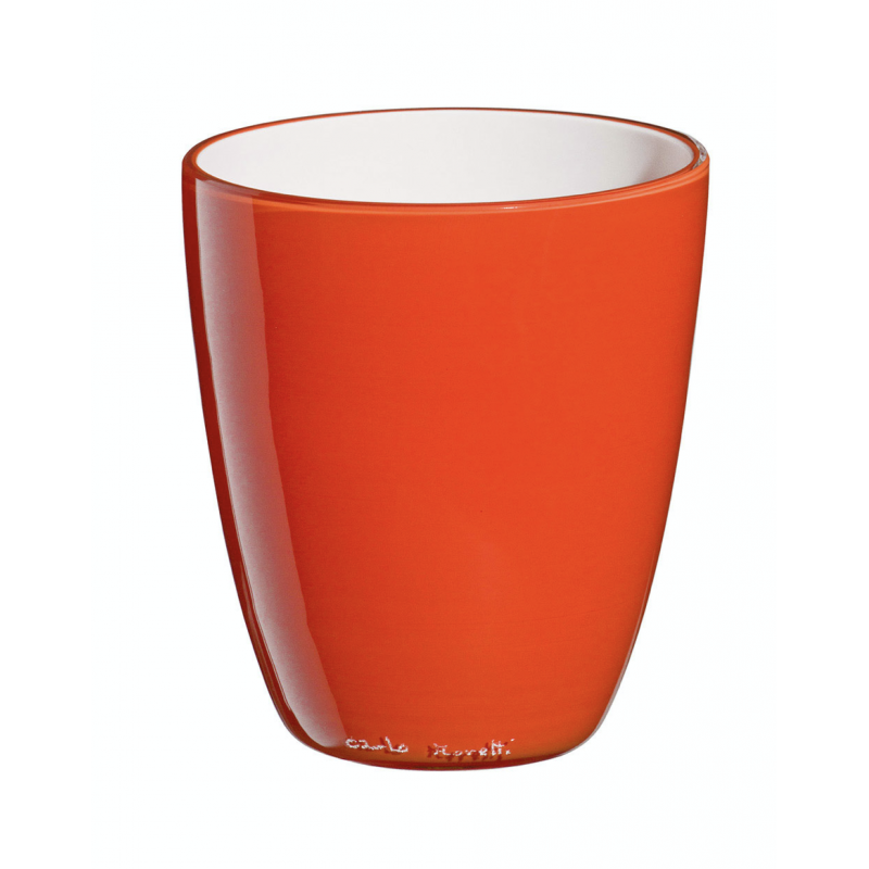 Pirus Verre Bicolore Orange