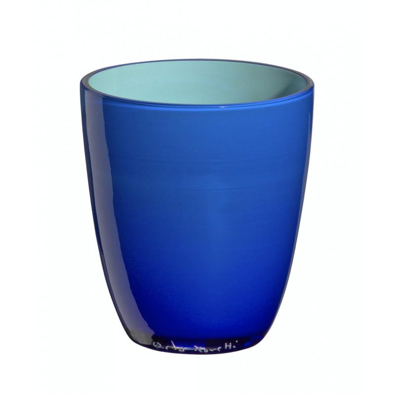 Pirus Verre Bicolore Bleu Lagon