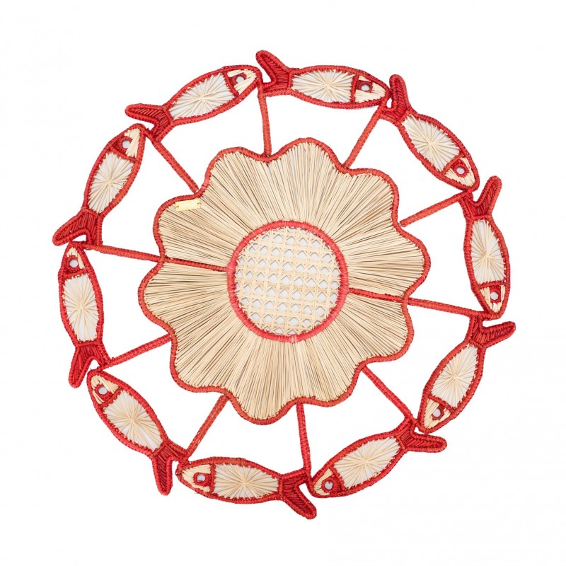 Placemat Fish Coral