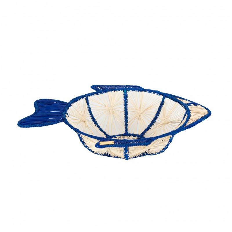 Fish Bowl Blue Medium