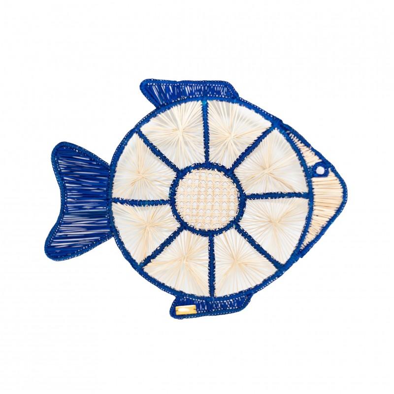 Fish Tray Blue Large