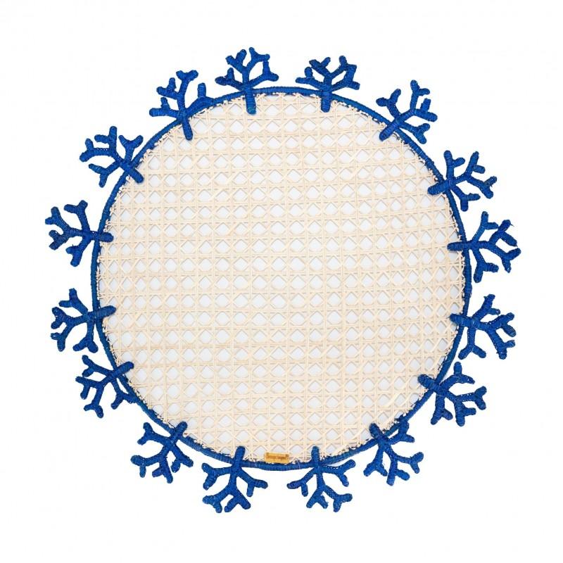 Placemat Coral Blue