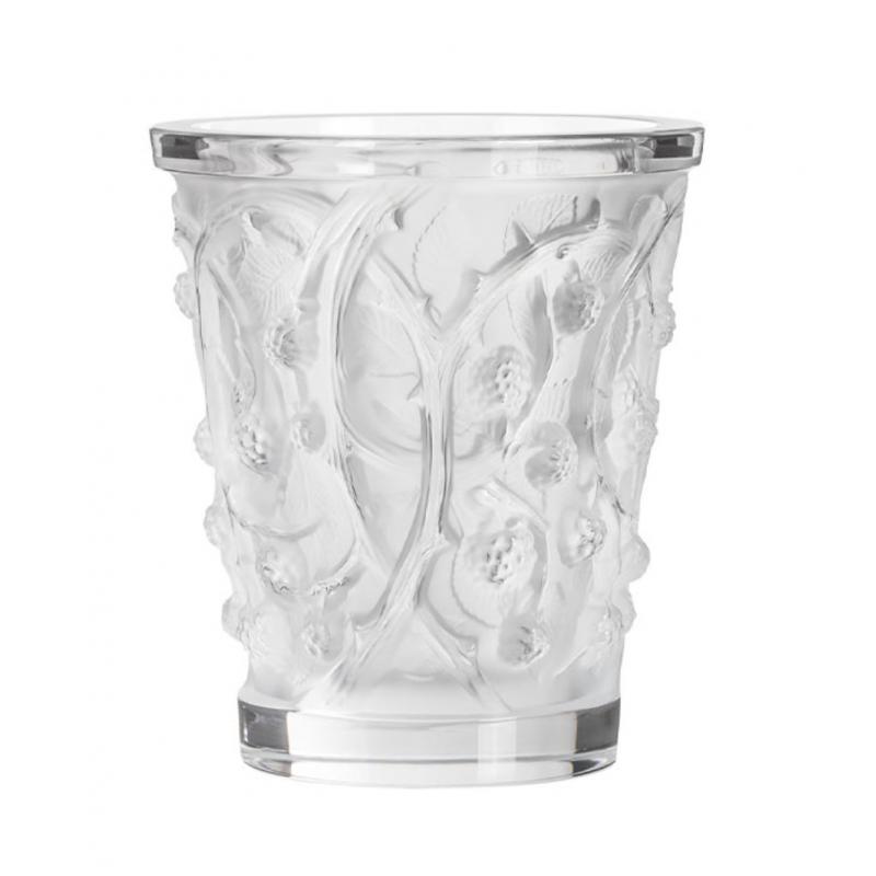 Mures Vase Medium Clear