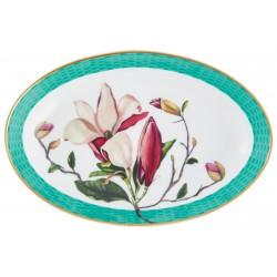 Trésor Fleuri Quenelle Dish