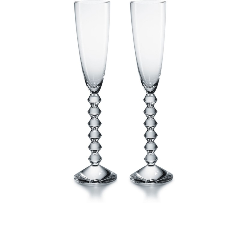 Set of 2 Véga Flutissimo Clear