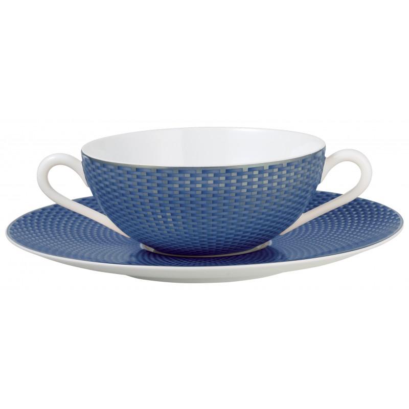 Trésor Bleu Soup Saucer