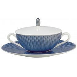 Trésor Bleu Cream Soup Cup Lid