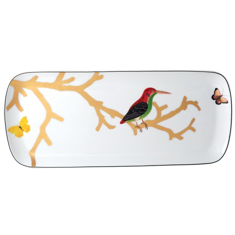 Aux Oiseaux Cake Platter Rectangular