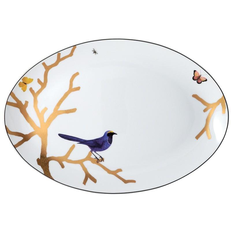 Aux Oiseaux Oval Platter
