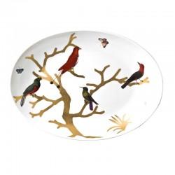 Aux Oiseaux Oval Platter no...