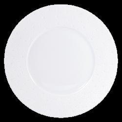 Ecume Blanc Dinner Plate