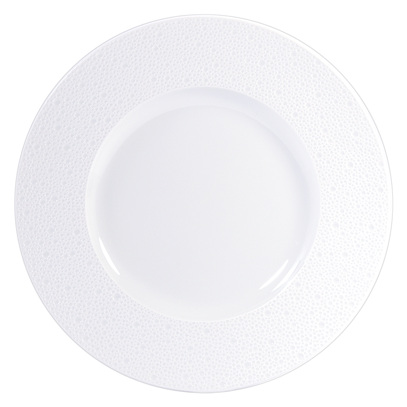Ecume Blanc Service Plate