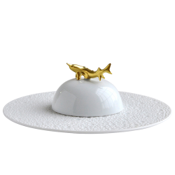 Ecume Blanc Set of Caviar...