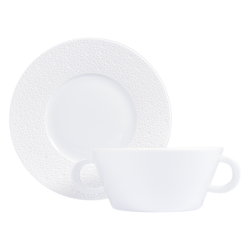 Ecume Blanc Cream Cup and...