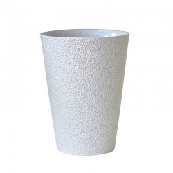 Ecume Blanc Vase