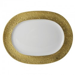 Ecume Or Oval Platter