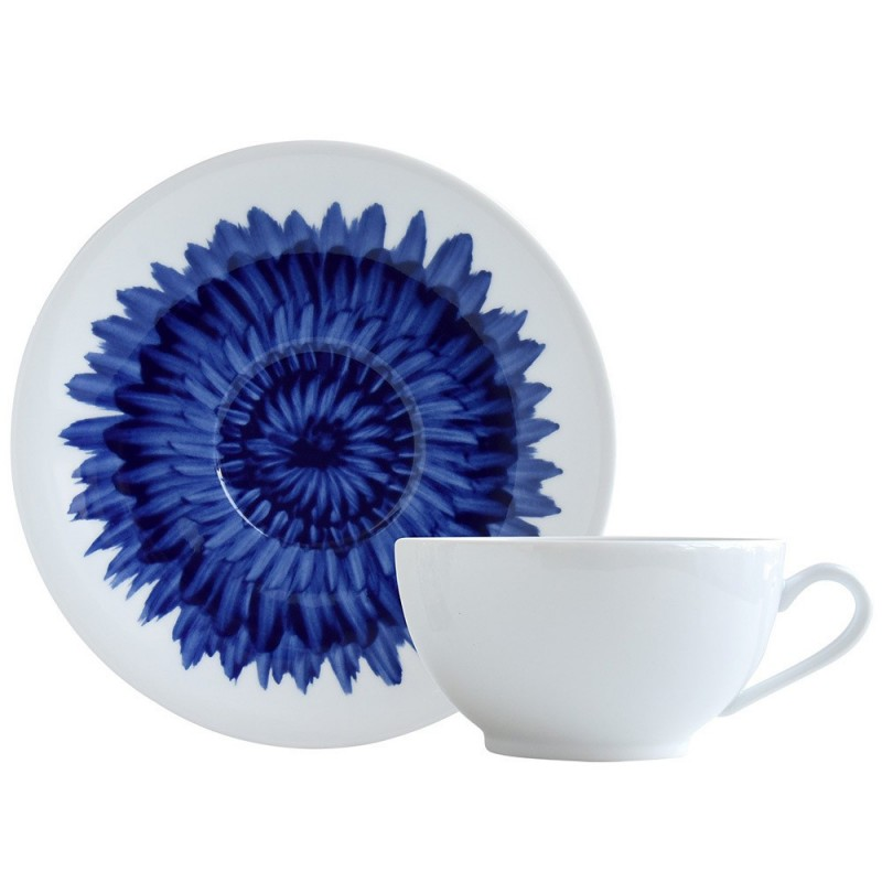 Tasse à Déjeuner et Soucoupe In Bloom