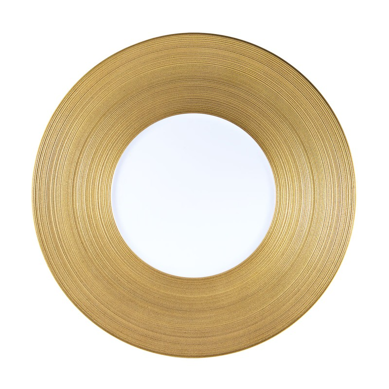 Hemisphere Gold Charger Plate