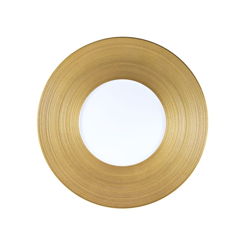 Hemisphere Gold Dinner Plate