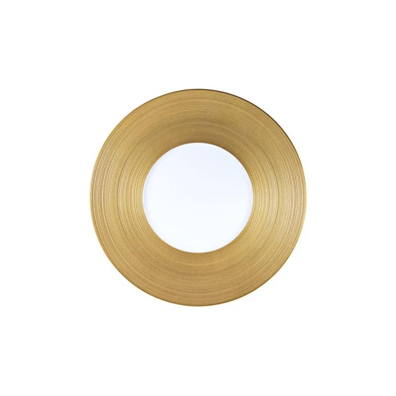 Hemisphere Gold Dessert Plate