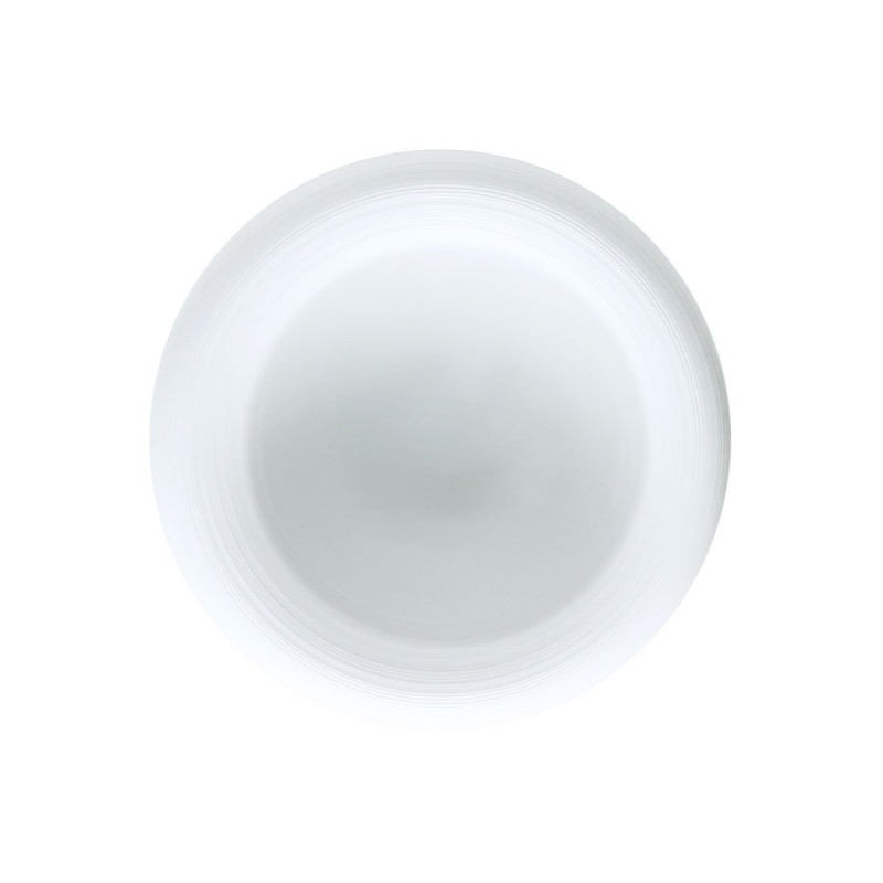 Hemisphere White Satin Bubble 7 cm