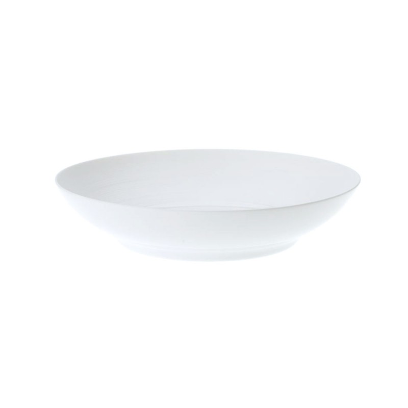 Hemisphere White Satin Deep Dish
