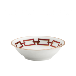Catene Red Fruit Bowl - Set...