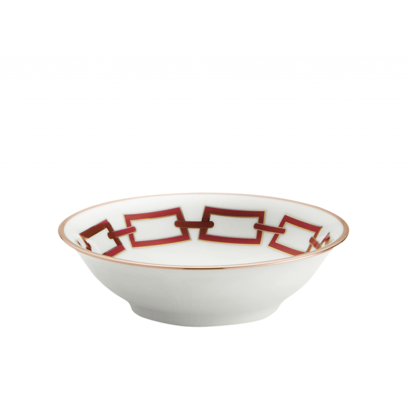 Catene Red Fruit Bowl - Set of Two