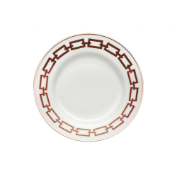 Catene Red Dinner Plate -...