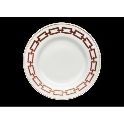 Catene Red Dinner Plate -...