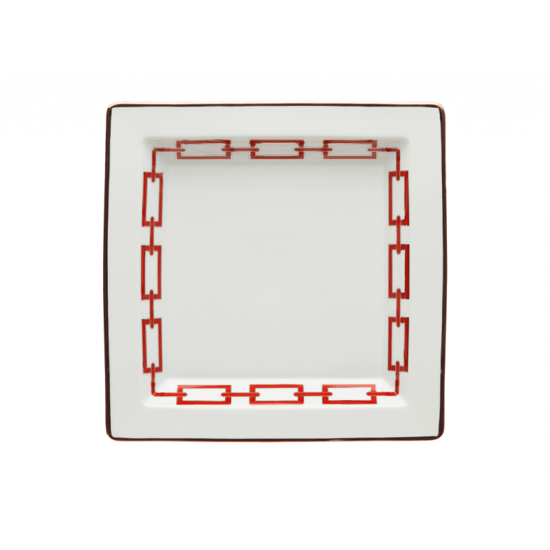 Catene Red Trinket Tray Large