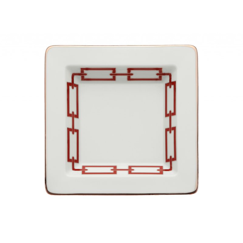 Catene Red Trinket Tray Small