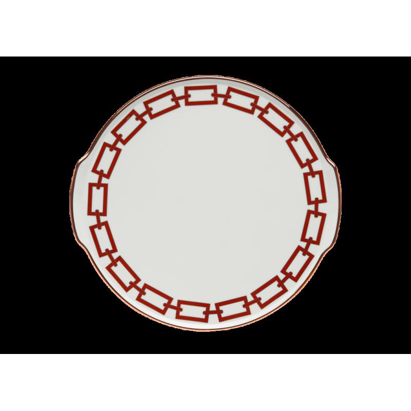 Catene Red Cake plate