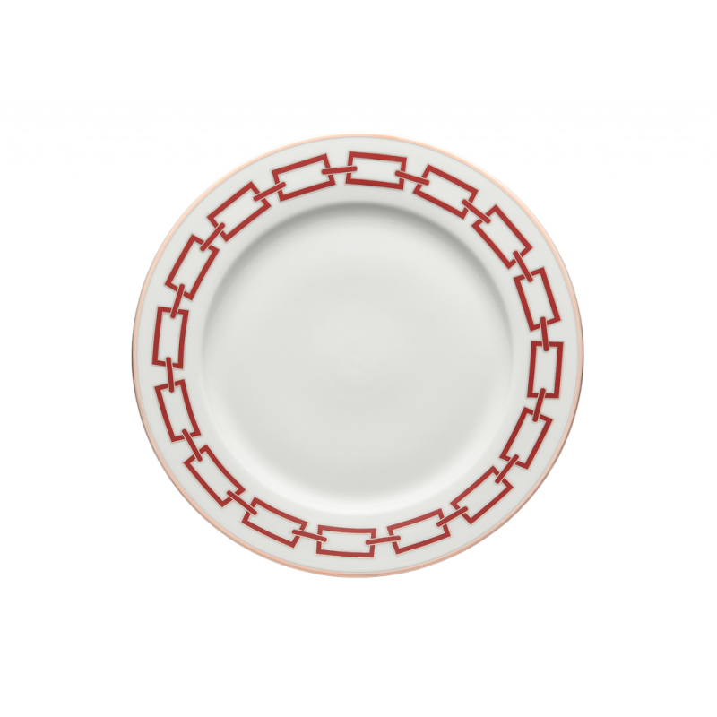 Catene Red Charger Plate