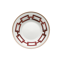Catene Red Coffee Saucer