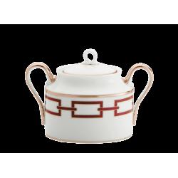 Catene Red Sugar Bowl