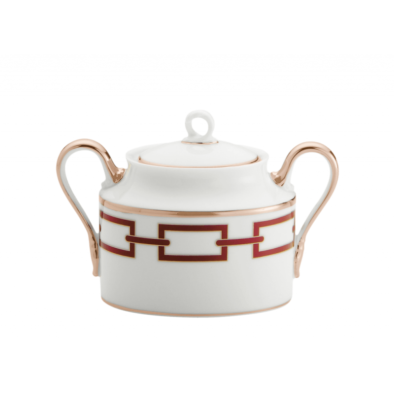 Catene Red Sugar Bowl