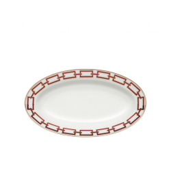 Catene Red Pickle Dish