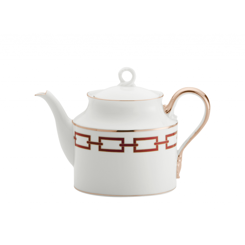 Catene Red Tea Pot